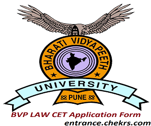 BVP LAW CET Application Form 2017