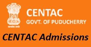 CENTAC Admissions 2017