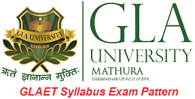 GLAET Syllabus Exam Pattern 2017