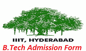 IIIT Hyderabad B.Tech Admission Application Form 2017