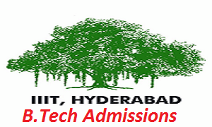 IIIT Hyderabad B.Tech Admissions 2017