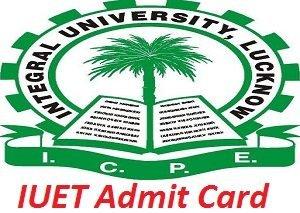 IUET Admit Card 2017