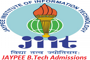 JAYPEE B.Tech Admissions 2017