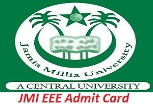 JMI EEE Admit Card 2017