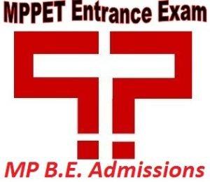 MP B.E. Admissions 2017