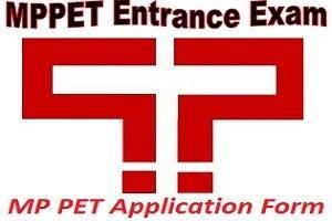 MP PET Application Form 2017