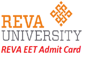 REVA EET Admit Card 2017