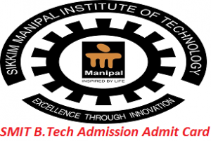 SMIT B.Tech Admission Admit Card 2017