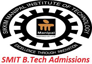 SMIT B.Tech Admissions 2017