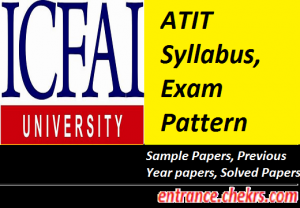 ATIT Syllabus Exam Pattern 2017