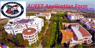AUEET Application Form 2017
