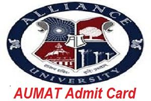 AUMAT Admit Card 2017