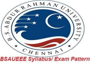 BSAUEEE Syllabus Exam Pattern 2017