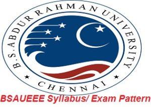 BSAUEEE Syllabus Exam Pattern 2017
