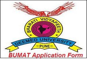 BUMAT Application Form 2017