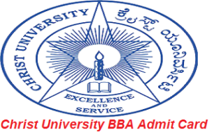Christ University BBA Admit Card 2017