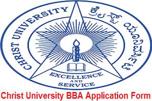Christ University BBA Application Form 2017