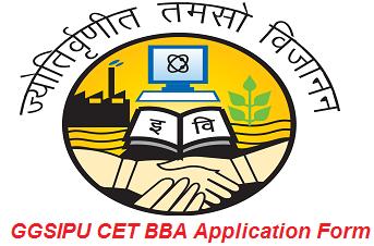 GGSIPU CET BBA Application Form 2017