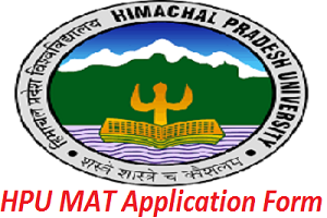 HPU MAT Application Form 2017