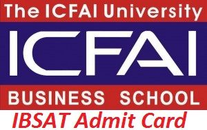 IBSAT Admit Card 2017
