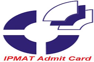 IPMAT Admit Card 2017