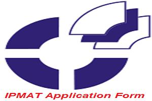 IPMAT Application Form 2017