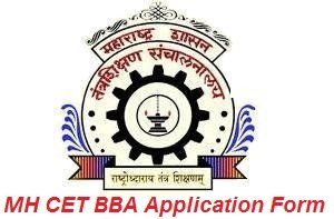 MH CET BBA Application Form 2017
