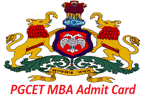 PGCET MBA Admit Card 2017