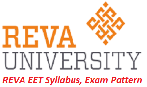 REVA EET Syllabus, Exam Pattern 2017