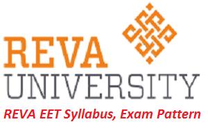 REVA EET Syllabus, Exam Pattern 2017