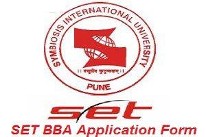 SET BBA Application Form 2017