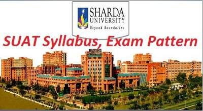 SUAT Syllabus, Exam Pattern 2017