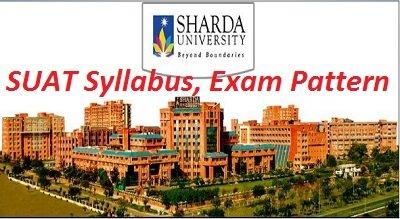 SUAT Syllabus, Exam Pattern 2017