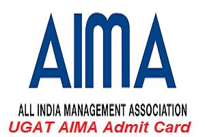 UGAT AIMA Admit Card 2017