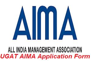 UGAT AIMA Application Form 2017