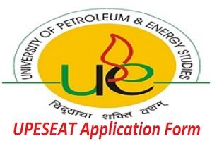 UPESEAT 2017 Application Form