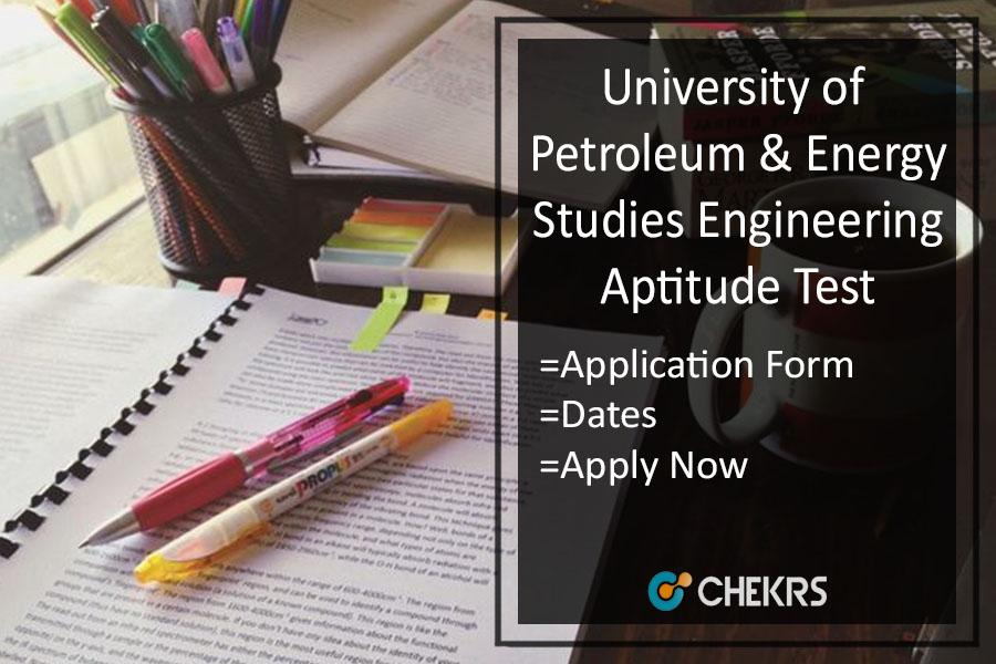 UPESEAT Application Form, Important Dates, Eligibility, Syllabus
