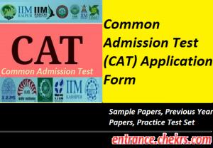 CAT Application Form 2017