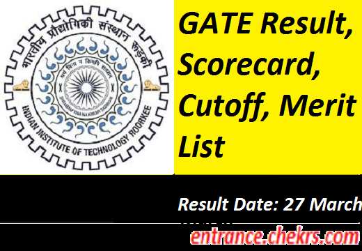Gate 2019 Result Photo: GATE 2019 Result- Download Rank/ Score Card, Cut Off (SC