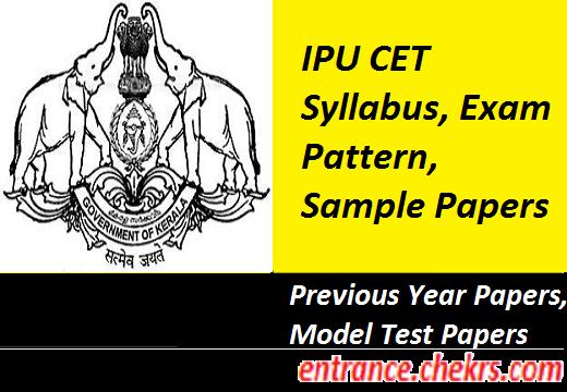 IPU CET Syllabus, Exam Pattern 2017
