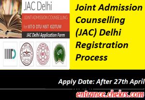 JAC Delhi 2017 Registration