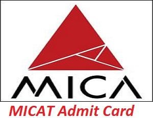 MICAT Admit Card 2017