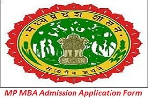 MP MBA Admission Application Form 2017