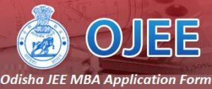 Odisha JEE MBA Application Form 2017