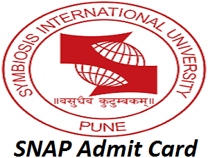 SNAP Admit Card 2017
