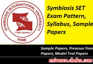 Symbiosis SET Syllabus, Exam Pattern 2017