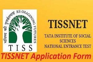 TISSNET Application Form 2017