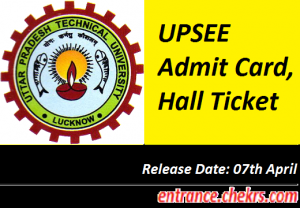UPSEE Admit Card 2017
