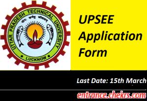 UPSEE Application Form 2017