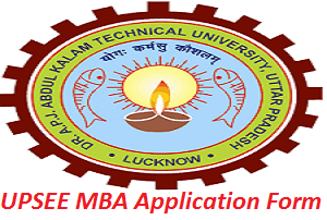 UPSEE MBA Application Form 2017
